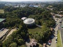 Opera de Arame, cultura e natureza no mesmo lugar, ponto de turista tradicional na cidade de Curitiba/Parana, Brasil Em julho de  imagem de stock royalty free