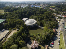 Opera de Arame, culture and nature in the same place, traditional tourist spot in the city of Curitiba/Parana, Brazil. July 2017. Opera de Arame, culture and Royalty Free Stock Image