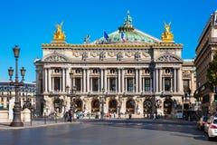 Opera de nacional Paris - Opera grande (Opera Garnier), Paris, franco Imagens de Stock