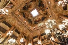 Opera de Parigi, Palais Garnier france Immagini Stock Libere da Diritti