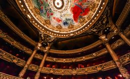 Opera de Parigi, Palais Garnier france Fotografia Stock Libera da Diritti