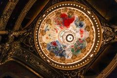 Opera DE Parijs, Palais Garnier frankrijk Royalty-vrije Stock Afbeeldingen