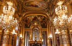 Opera DE Parijs, Palais Garnier frankrijk royalty-vrije stock afbeelding