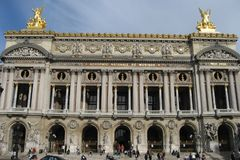 Opera de Paris Garnier Stock Photos