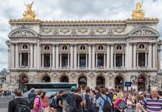 Opera de Paris Garnier Royaltyfri Fotografi