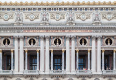Opera de Paris Garnier Royalty Free Stock Photography