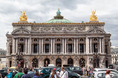 Opera de Paris Garnier Stock Photography