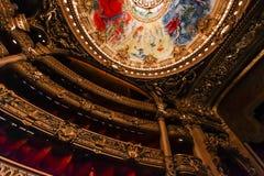 Opera de Paris, Palais Garnier. France Stock Image