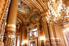 Opera de Paris, Palais Garnier. France Stock Photography