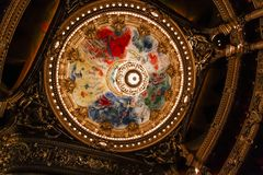 Opera de Paris, Palais Garnier. France Stock Images