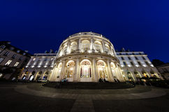 Opera de Rennes de nuit - Βρετάνη Στοκ Εικόνες