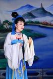 Opera del local del cinese Fotografie Stock