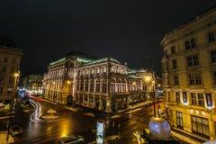 Opera dello stato dell'Austria a Vienna Fotografie Stock Libere da Diritti