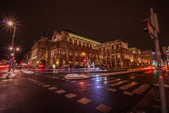 Opera dello stato dell'Austria a Vienna fotografia stock libera da diritti