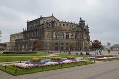 Opera dello stato di Dresda fotografia stock