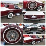 Opera 1979 di New York la Cadillac Siviglia di manifestazione di automobile antica immagini stock
