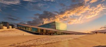 Opera di Oslo Fotografia Stock
