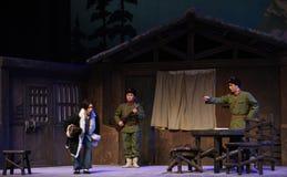 """Opera diLuanping-Pechino di contestazione dell'accusa che """"Taking il  del € di Tiger Montain By Strategyâ Fotografia Stock"""