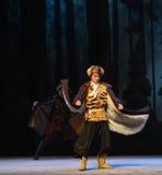 """Opera dimaglia-Pechino della tigre del mantello della pelle di pecora che """"Taking il  del € di Tiger Montain By Strategyâ Fotografie Stock"""