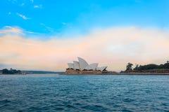 opera domowy zmierzch Sydney Obrazy Stock