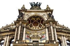 Opera in Dresden Stock Foto