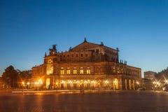 Opera Dresden Fotografering för Bildbyråer