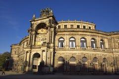 Opera in Dresden Stock Photos