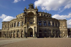 Opera in Dresden Royalty Free Stock Images