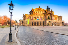 Opera in Dresden, Germany royalty free stock image