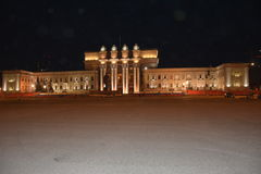 Opera e teatro de bailado do Samara Imagens de Stock Royalty Free