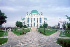 Opera en ballethuis in Astrakan, Rusland Stock Foto's