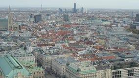 Opera en Cityscape van de Staat van hommel de Luchtwenen stock footage