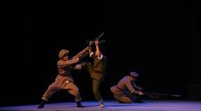 """Opera eroica dilotta-Pechino che """"Taking il  del € di Tiger Montain By Strategyâ Fotografie Stock"""
