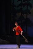 """Opera femminile dicacciatore-Pechino che """"Taking il  del € di Tiger Montain By Strategyâ immagine stock libera da diritti"""