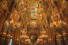 Opera Garnier. In France Paris Tourist Destination royalty free stock image