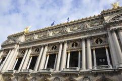 Opera Garnier Building from Paris in France Royalty Free Stock Photos
