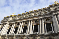 Opera Garnier Building from Paris in France Royalty Free Stock Photo