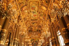 Opera Garnier Royalty Free Stock Photography