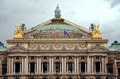 Opera Garnier Royalty Free Stock Photos