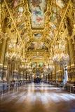 Opera garnier from inside Royalty Free Stock Photos