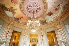 Opera Garnier interior in Paris, France Stock Photo