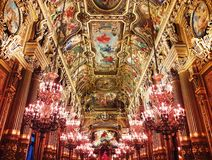 Opera Garnier Palace royalty free stock images
