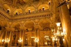 Opera Garnier Stock Photography