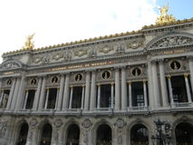 Opera Garnier a Parigi fotografia stock libera da diritti