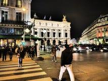 Opera Garnier Parigi fotografie stock libere da diritti