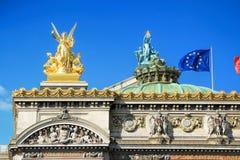Opera Garnier, Parigi, Francia immagine stock