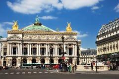 Opera Garnier in Parijs Stock Fotografie