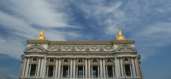 Opera Garnier in Parijs (in de dag) Royalty-vrije Stock Afbeeldingen