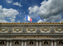 Opera Garnier in Paris (in the daytime) Royalty Free Stock Image