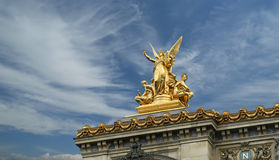 Opera Garnier in Paris (in the daytime),  Stock Photography